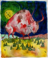 The Ox of Suomi by DustyCandy
