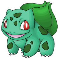 001 Bulbasaur by Ninjendo
