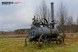 Steam engine by Morphyz