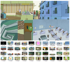 Thesis film Background Selection by Allyatharii