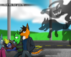 How the Day Goes By by WolfAsh