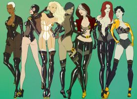 X-ladies by Carloscalvo