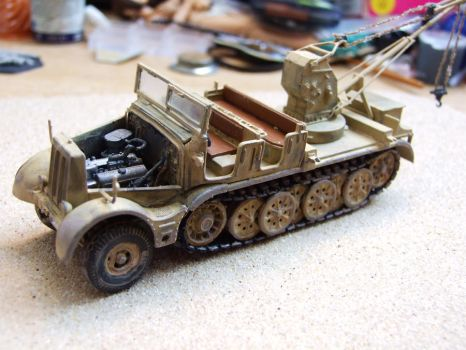 Sd Kfz 9 by tommy-tommerson