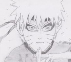 Naruto II Sketch by Evex92