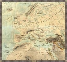 Europe in 2500 B.C. by JaySimons