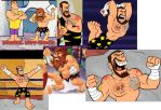 Prehistoric WWE by CooperGal24