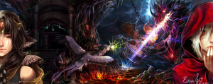 Clash Of Dragons by Esgalor