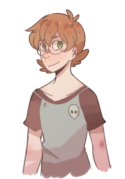 Pidge With Alien Shirt by NyanWulf02