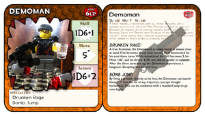 BrikWars Card - TF2 Demoman by Bleu-Ninja