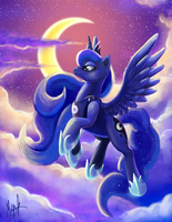 I Am the Night by MillyD13
