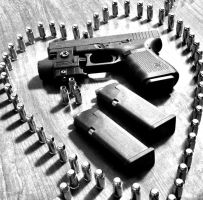 Love my Glock by JLMARTINMMXIV