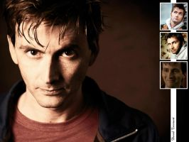 David Tennant Wallpaper by pfeifhuhn
