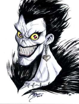 RYUK from DeathNote by renomsad
