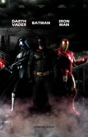 Batman/Darth-Vader/Iron-Man by Guner09