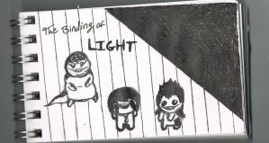 The Binding of Light by CaffeinatedSketches