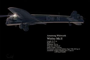 Armstrong Whitworth Whitley by hylajaponica