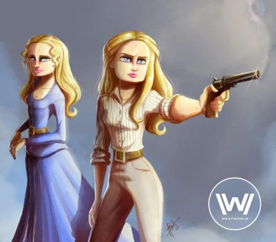 Westworld - Dolores by obscureBT
