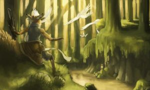 This Forest Light by Zethelius