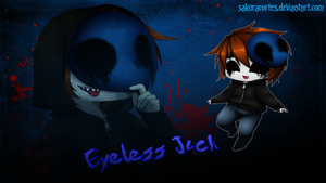 Eyeless Jack Wallpaper by sakuracortes