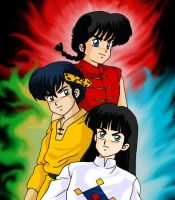 Ranma Guys by TechnoRanma