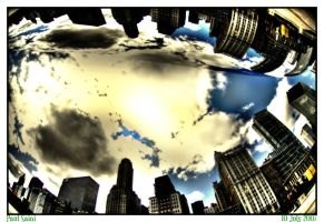 Chicago Cloud Gate by paulsaini