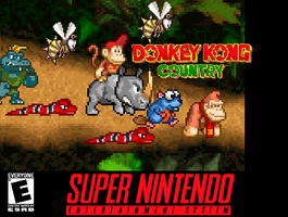 Donkey Kong Country by Tailikku1