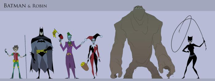Batman and Robin Animated..... again by drazebot