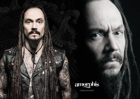 Amorphis - Circle II, Tomi Joutsen by Wolverica