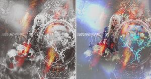 COLOR AND B.W   SPAM   EDICION by Ihavethedreamersdise