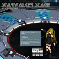 MMD Starwalker Stage Instructions by Trackdancer