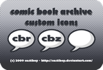 comic book archive icons by castiboy