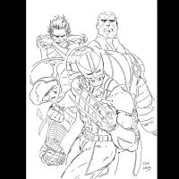 X_Men_Cammo Inks by JamesLeeStone
