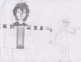 Five Nights At Slendy's - Laughing Jack and Sally by Im-Albert-Wesker