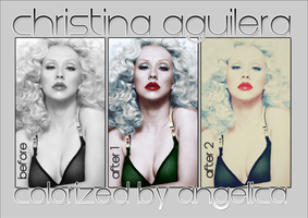 CHRISTINA AGUILERA by noella-leigh