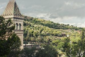 Parc Guell and the hills by VTAL