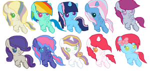 MLP Shipping Adopts. 5 Points [CLOSED] by MargaretLovez