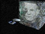 Locutus projected on Cube sketch by Richard67915