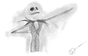 Jack Skellington: The Pumkin King by Mordecai1423