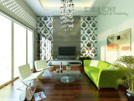 Living room by athaliasovie