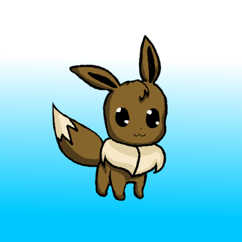 Eevee gimp 2.6 tablet practice by SuperDesuSama