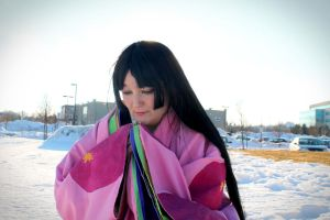 Offering A Prayer for Inu no Taishou by Midnight-Dance-Angel
