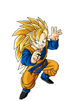 SSJ3 Goten by DBZArtist94