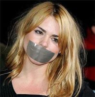 Billie Piper Tape Gagged by The-email
