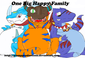:One Big Happy Family: by PlumpProductions