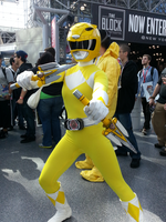 Yellow Ranger by StealthNinja5