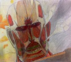 Colossal Titan! by AnimeLoverOCD
