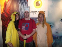 Students cosplaying Animation College by AnimationCollegeNZ