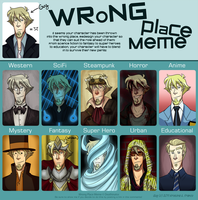 Wrong Place Meme - Guy by Crista-Galli