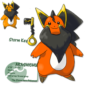 Last fakemon of all. Goodbye by G-FauxPokemon