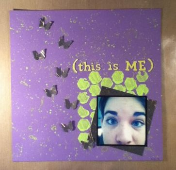 This is Me Scrapbook Page by dreamycards